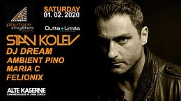 Party Flyer Phuture Rhythm presents: STAN KOLEV 1 Feb '20, 23:00