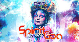 Party Flyer SPIRIT OF GOA 2020 1 Feb '20, 22:00
