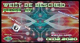 Party Flyer Weißt de Bescheid Reise V.7 - BACK IS BACK 1 Feb '20, 23:00