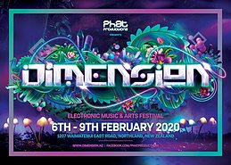 Party Flyer Dimension 6 Feb '20, 22:00