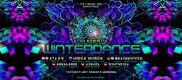 Party Flyer Atra Scientia • Winterdance 7 Feb '20, 23:00