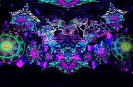 Party Flyer ॐ GOA SUN ॐ at Proton VII // WALK IN TATTOO 7 Feb '20, 23:00