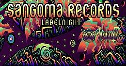 Party Flyer Sangoma Records Label Night 7 Feb '20, 22:00