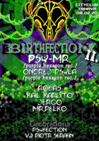Party Flyer BirthFection II/w.PSY-MR. 8 Feb '20, 21:00