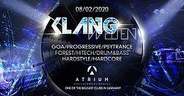 Party Flyer Klangwelten Indoor Festival|Si Moon|Unproven|Lsdirty|Meis Uvm 8 Feb '20, 23:00