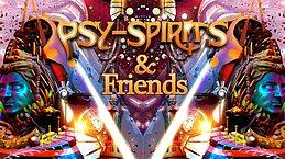 Party Flyer Psy-Spirits & Friends 8 Feb '20, 22:00
