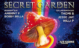 Party Flyer SECRET GARDEN 8 Feb '20, 23:00