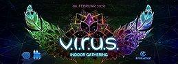 Party Flyer V.I.R.U.S. Indoor Gathering W/MORTEN GRANAU 8 Feb '20, 21:00