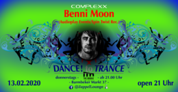Party Flyer DANCE! to TRANCE 13 Feb '20, 21:00