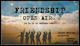Party Flyer Friendship Open Air - Island Music Gathering 13 Feb '20, 15:00