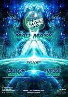 Party Flyer A Space Journey with: MAD MAXX 14 Feb '20, 22:00
