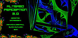 Party Flyer ALTERED PERCEPTION 2.0 14 Feb '20, 23:00