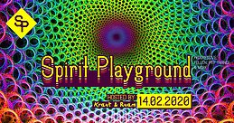 Party Flyer Spirit Playground with Audiomatic 14 Feb '20, 22:00