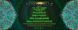 Party Flyer UG Collective & Sala El Tren Presentan: Psycodelic Vol.3 14 Feb '20, 22:00