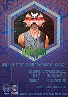 Party Flyer Full Moon Psytrance ॐ Kabayun & Meerkat / Kalizer 15 Feb '20, 21:00