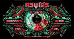 Party Flyer Psy Iris w/ Blacklite Records 15 Feb '20, 22:30