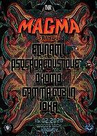 Party Flyer TheDarkCode MAGMA Istanbul 15 Feb '20, 22:00