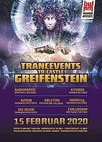 Party Flyer TRANCEVENTS TO CASTLE GREIFENSTEIN (PART TWO) 15 Feb '20, 21:00
