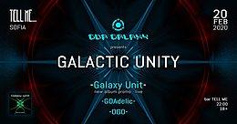 Party Flyer GALACTIC UNITY - Sofia 20 Feb '20, 22:00