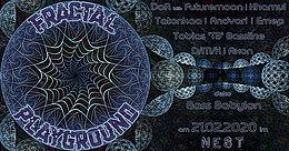 Party Flyer Fractal Playground [2 Floors] 21 Feb '20, 22:00