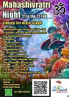 Party Flyer Maha Shivratri Night 21 Feb '20, 13:30