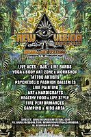 Party Flyer NEW VISION music & art Festival 21 Feb '20, 16:00