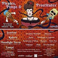 Party Flyer Pirates, Pimps & Prostitutes (Karnevalsfreitag 2020) 21 Feb '20, 23:00