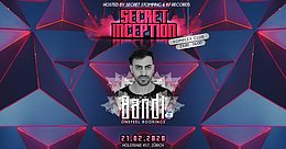 Party Flyer ❤️Secret Innception ❤️ Bandi first time 21 Feb '20, 23:00
