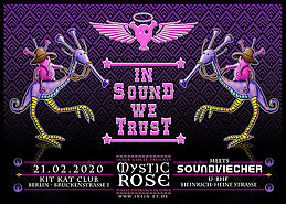 Party Flyer The Mystic Rose meets Soundviecher 21 Feb '20, 23:00