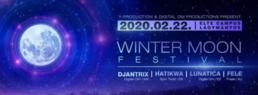 Party Flyer Winter Moon Festival 2020 22 Feb '20, 22:00