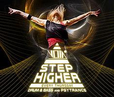 Party Flyer Step higher on Thursdays 27 Feb '20, 23:00
