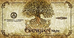 Party Flyer Banyan Night in Costa Rica 28 Feb '20, 15:00