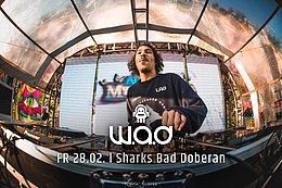 Party Flyer W.A.D @ Psy 4 Hai l Sharks Club Bad Doberan 28 Feb '20, 22:00