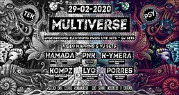 Party Flyer Multiverse 29 Feb '20, 23:00