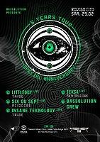 Party Flyer OKUMA 5 YEARS TOUR-Rovigo (IT) 29 Feb '20, 21:00