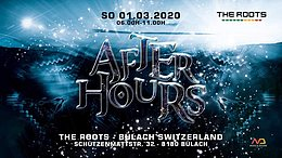 Party Flyer The Roots Afterhours 1 Mar '20, 06:00