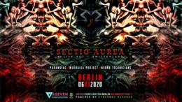 Party Flyer Sectio Aurea - Berlin 6 Mar '20, 23:30