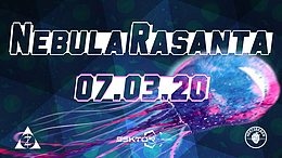 Party Flyer Nebula Rasanta 7 Mar '20, 23:00