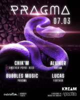 Party Flyer PRAGMA 7 Mar '20, 23:30