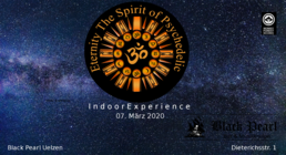 Party Flyer ॐ The Spirit of Psychedelic Indoor Experience Vol.3 ॐ 7 Mar '20, 21:00