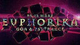 Party Flyer Euphorika ☬ Goa & Psytrance /w Mico-X 13 Mar '20, 23:30