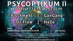Party Flyer Psycoptikum II 13 Mar '20, 22:00