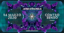 Party Flyer ☾ Argemonia ☽ 14 Mar '20, 23:00
