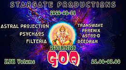 Party Flyer Destination Goa-Revival 14 Mar '20, 20:30