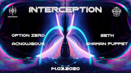 Party Flyer Interception : West Side 14 Mar '20, 22:00
