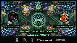 Party Flyer SANGOMA RECORDS Label Party 14 Mar '20, 23:00