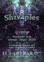 Party Flyer Shivaples 2020 - psychedelic rave ball 14 Mar '20, 21:00