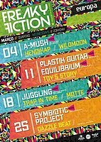 Party Flyer FREAKY FICTION 18 Mar '20, 23:00