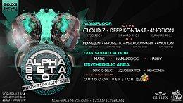 Party Flyer Alpha Beta Goa / #WoWirSindIstVorne 20 Mar '20, 21:00