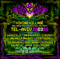 "Party Flyer Viking Village ""Hail4Gaia"" Official PreParty > Tel Aviv! 20 Mar '20, 23:00"